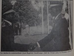 Thomas Sankara et Jean Baptiste Ouedraogo