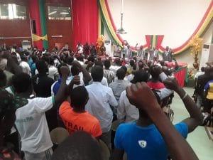 15 octobre 2019. Panel vaincre le terrorisme par la mobilisation poulaire organisé par le Mémorial Thomas Sankara