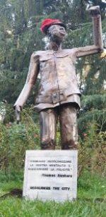 Statue de Thomas Sankara, une œuvre de Mor Talla Seck