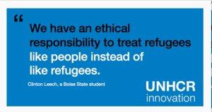 Klartext von der UNO © UNHCR