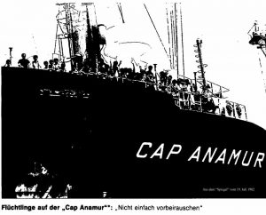 """Neudeck und seine """"Cap Anamur"""" 1982"""