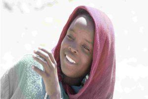 Ein Mädchen aus dem Tschad vom Nachbar Aftrika © Tom Rübenach