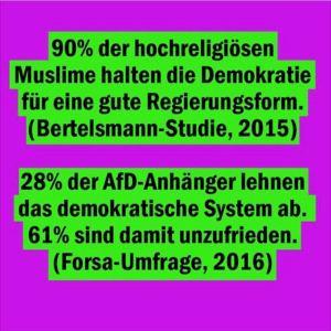 AfD schürt diffuse Ängste gegen alle Fakten Realität