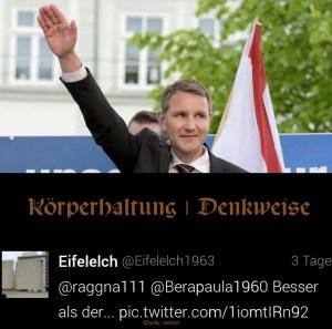 Der mit der Diktatur tanzt © twitter