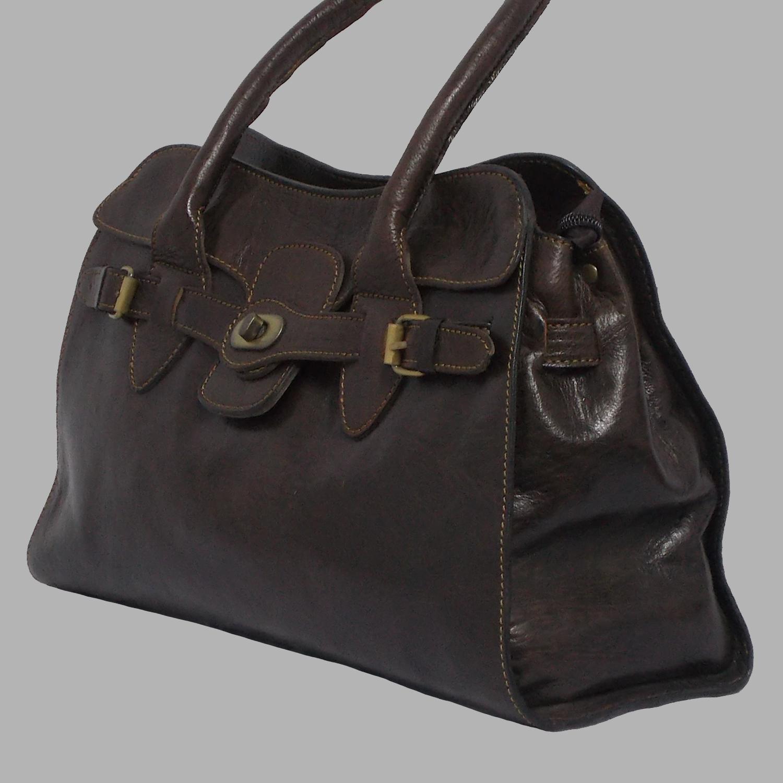 Handmade Leather Handbag Thomassi 2020