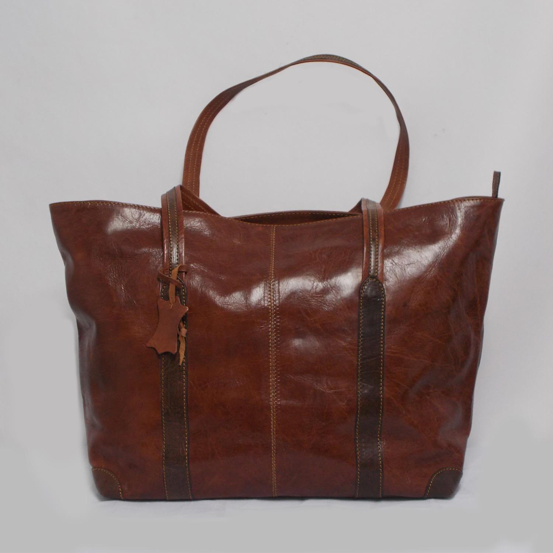 Handbag Handmade Leather Thomassi 2020