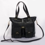 Leather Handbag - 3 Colors