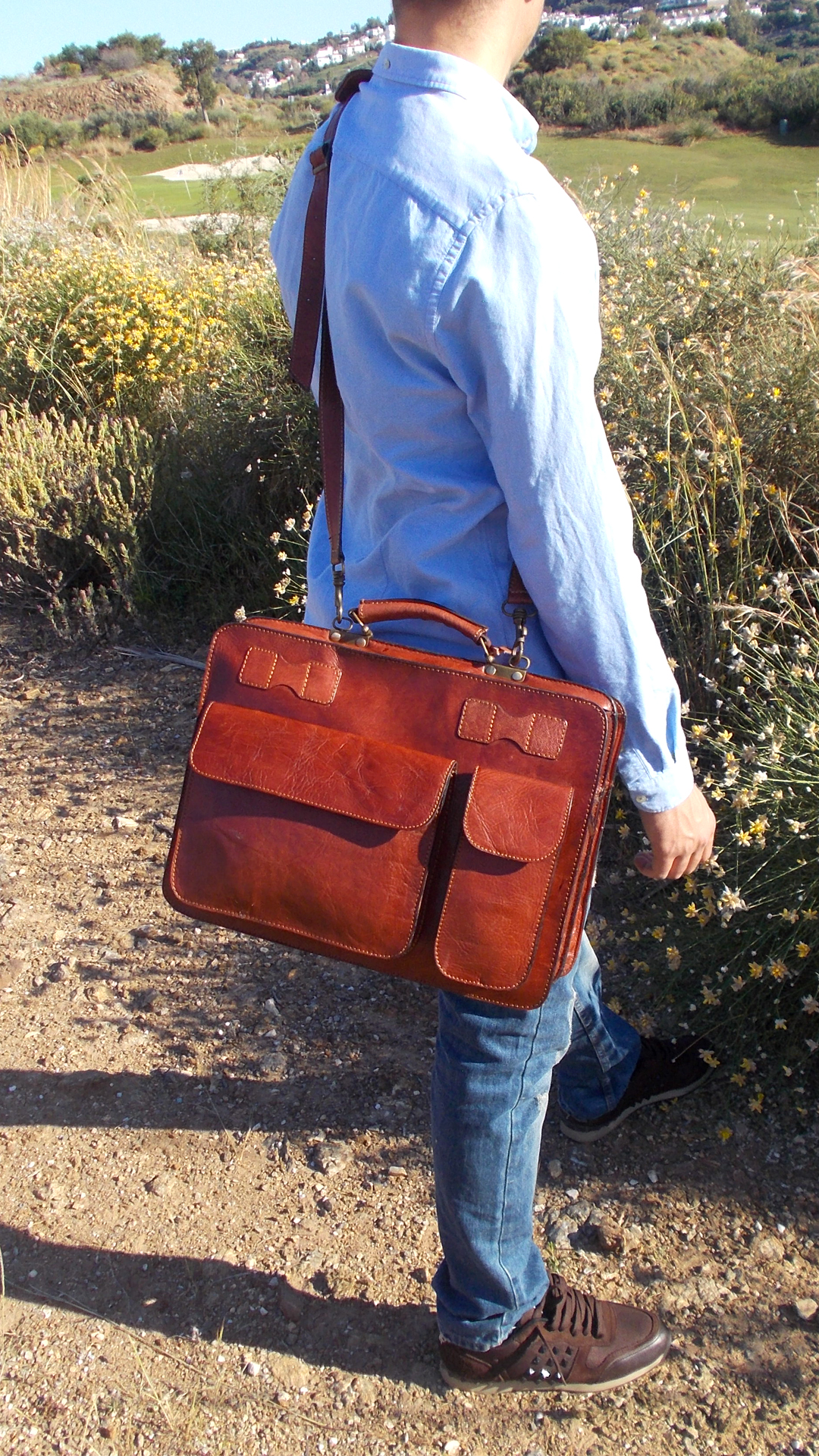 Briefcases Leather Collection Image
