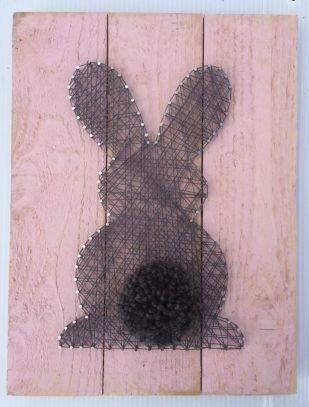 Bunny string art
