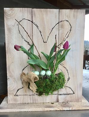Flowers Bunny-300