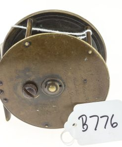 Farlows Brass Patent Lever Fly Reel