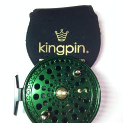 Kingpin Imperial 475 Float Reel in Green-Black