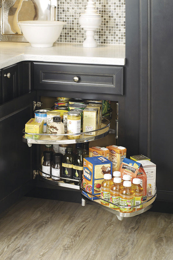 Thomasville Organization Base Corner With Curved Pullout