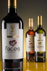 Les trois vins blanc, rosé et rouge, de Lidio Carraro pour la Coupe du monde de foot.
