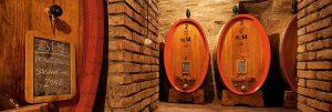 Une cave pour ce grand rouge de garde qu'est le Sagrantino.