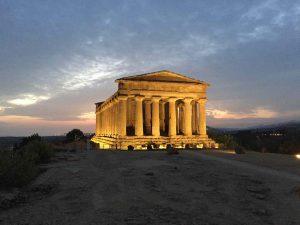 La vallée des temples, Agrigente.