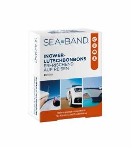 SEA-BAND Ingwer Lutschbonbon