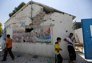 UN school in Gaza Strip caught in airstrikes