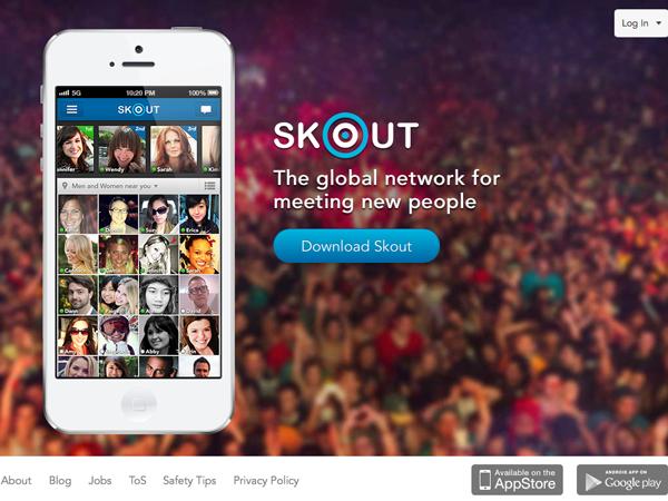 Skout Website UX Design - Richard Thomchick