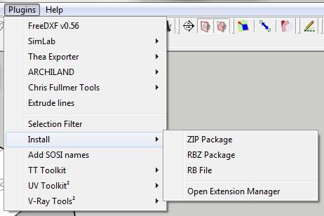 Installing Plugins for SketchUp   Procrastinators Revolt!