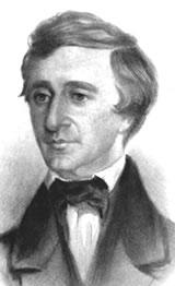 Portrait of a young Thoreau