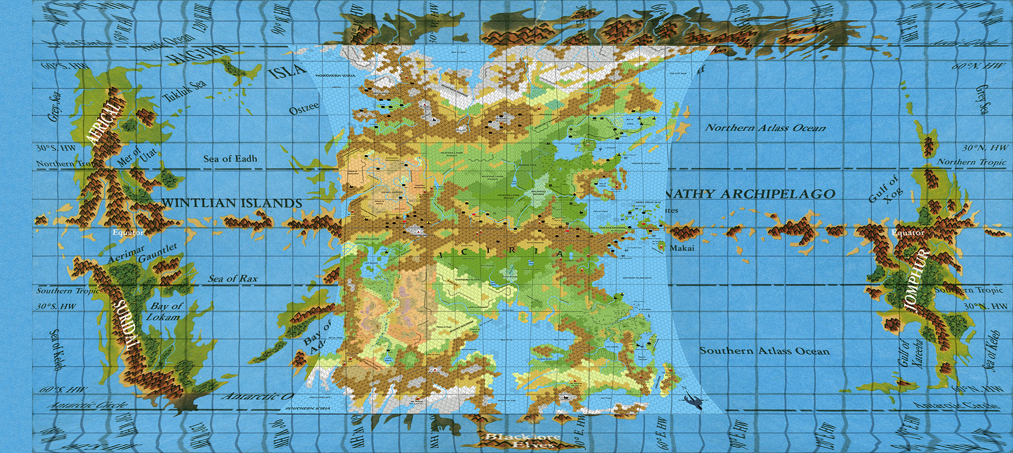 Hollow World – Thorfinn Tait Cartography