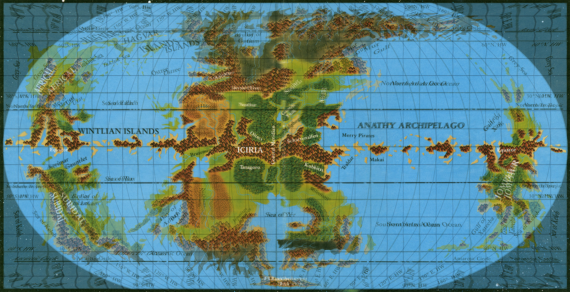 Hollow World – Thorfinn Tait Cartography