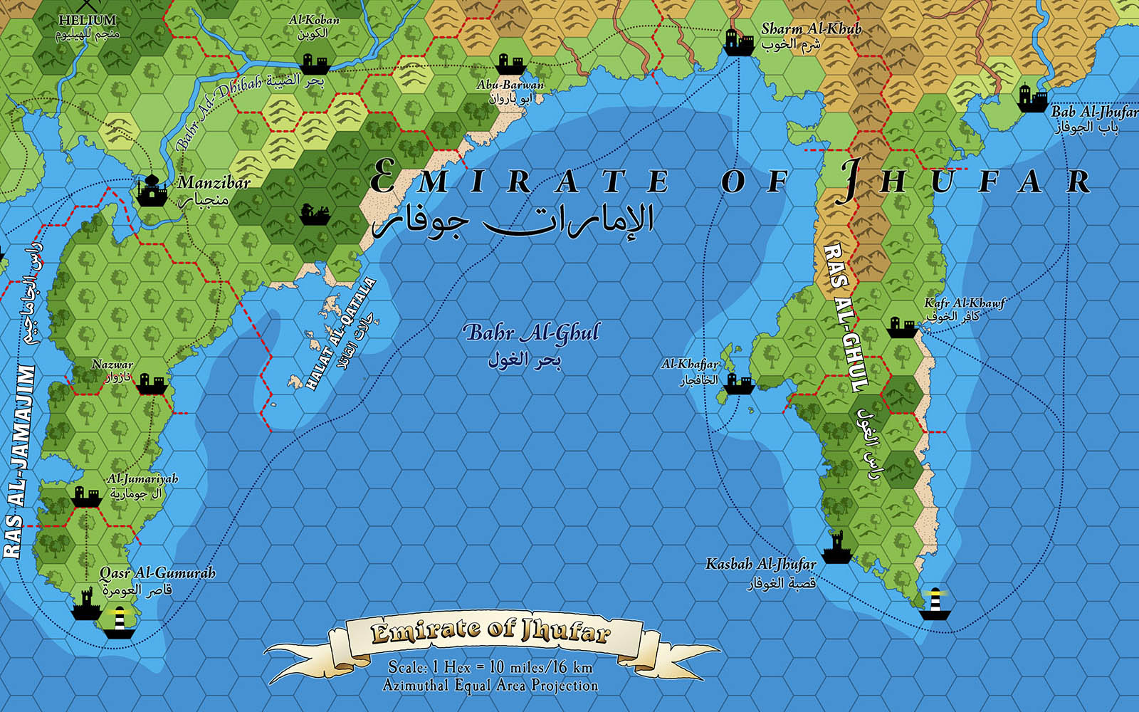Al-Barami and Jhufar Hex Maps (Patreon)