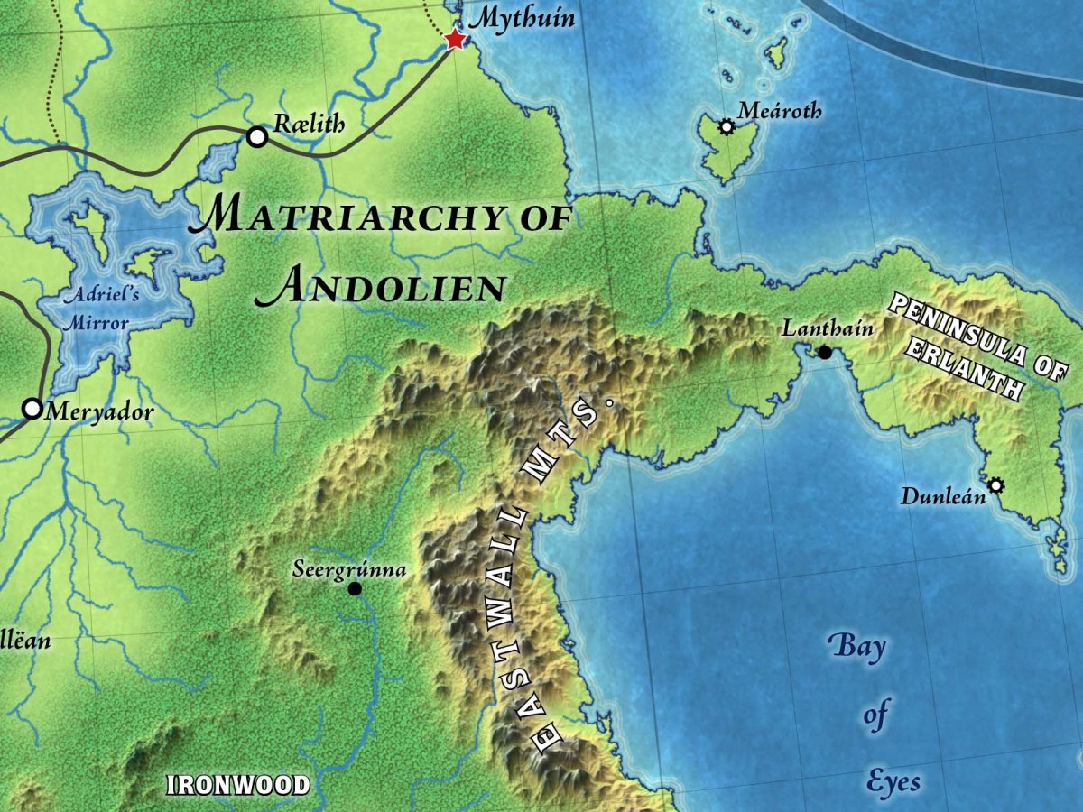 Alfdaín Topographical Map (Patreon)