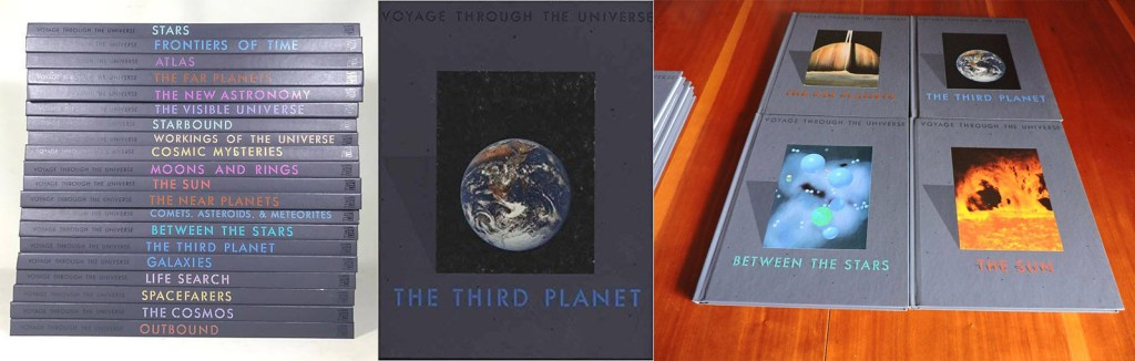 The Voyage Through the Universe series of books from Time Life