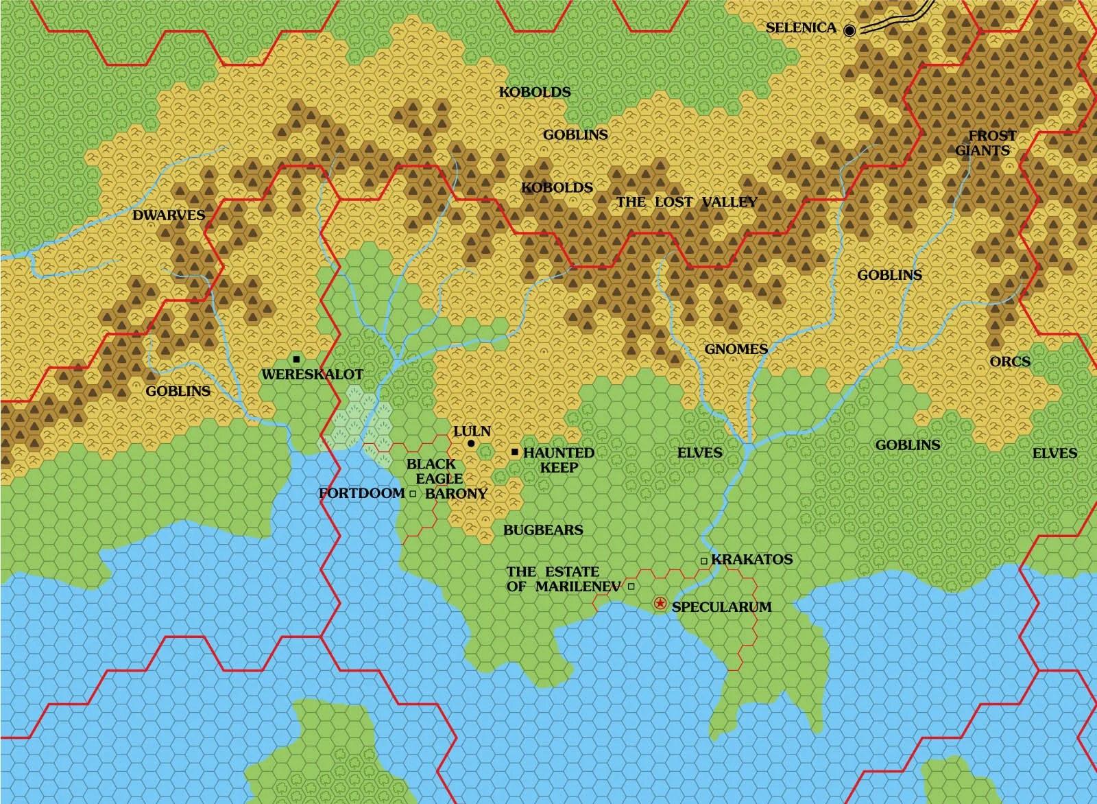Let's Map Mystara 1981-1982