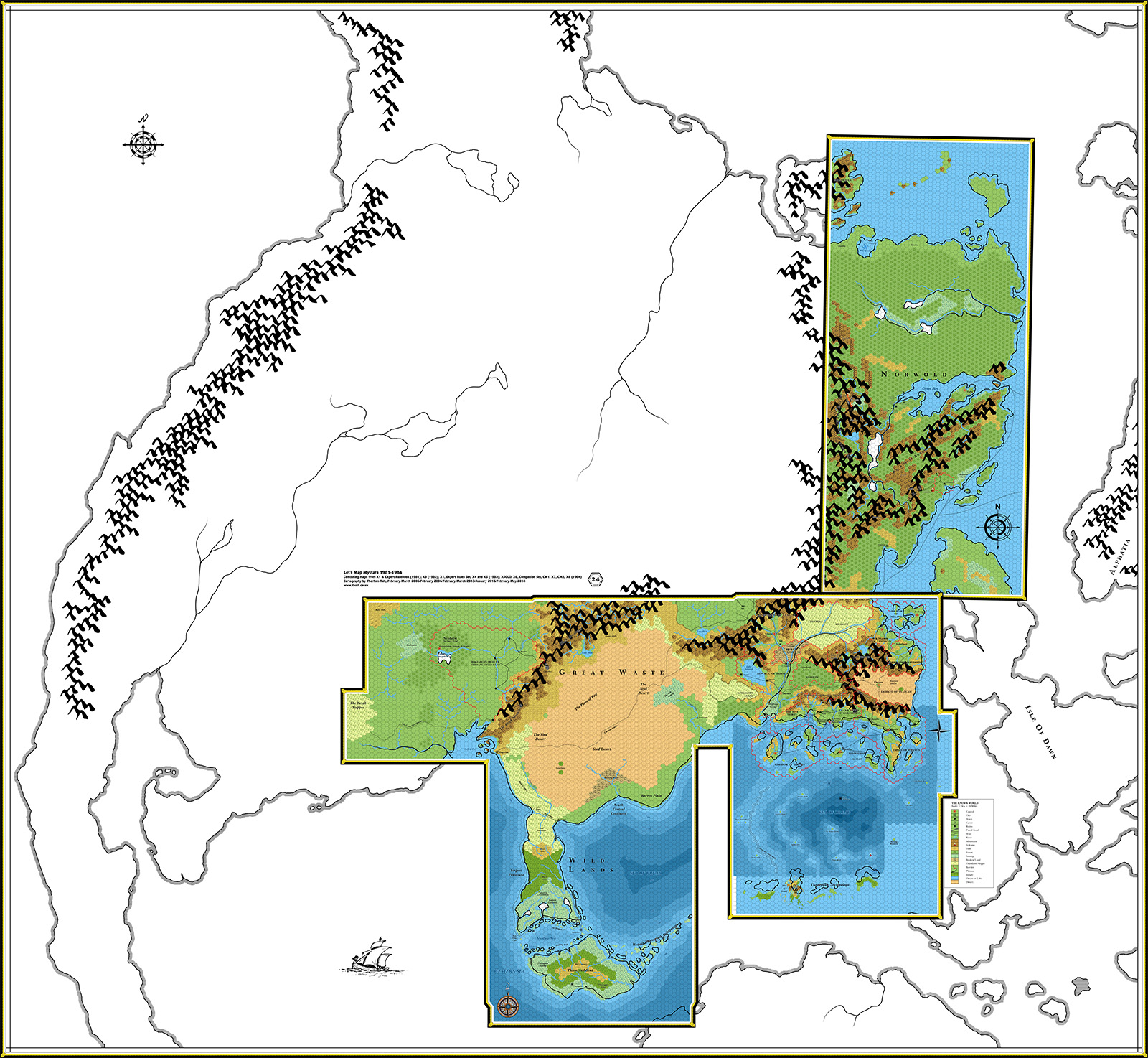 Thorfinn Tait Cartography – Mapping fantastic worlds with real world ...