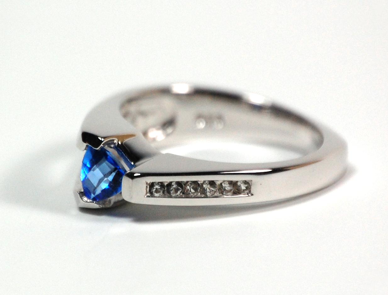 Frank Reubel Blue Topaz Ring