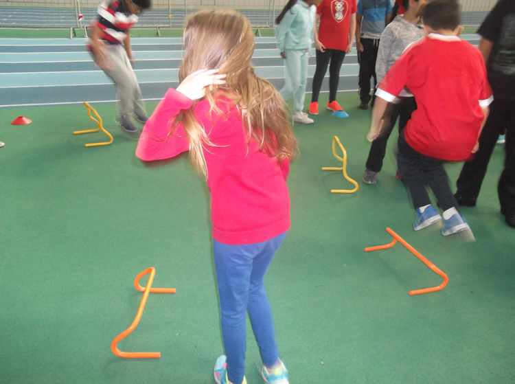 EIS (English Institute of Sport) sports day for Y6 children