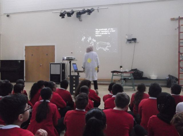 A special 'Science' assembly