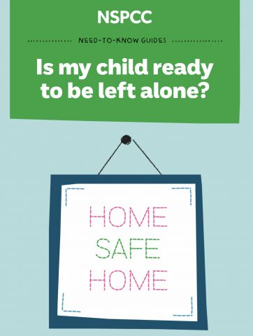 Is my child ready to be left at home alone..?