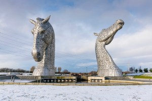 Kelpies at Helix Park Falkirk
