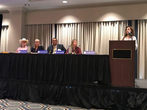 Aftercare panel Stacie Clark, Benard Chatters, Patrick Richmond, Michelle Rodriguez, Jessica Hammond (2)