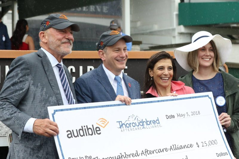 TAA Audible check presentation Ky Derby 2018