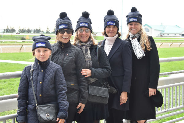 Thoroughbred Aftercare Alliance group at Woodbine