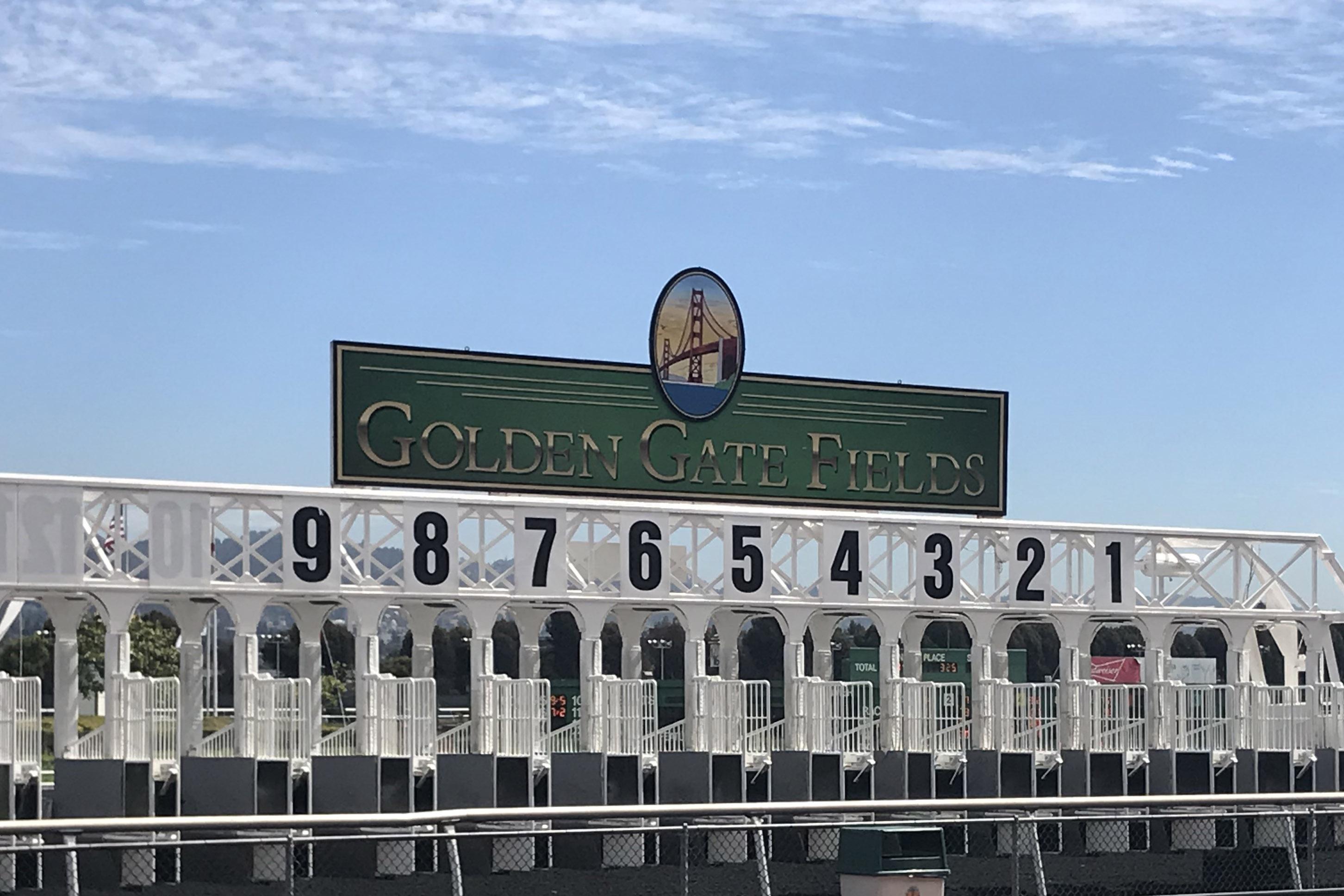 Golden Gate Fields starting gate