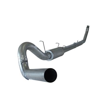 flo pro 5 aluminized turbo back exhaust fits 94 02 dodge rc ec sb lb dually w muffler 602