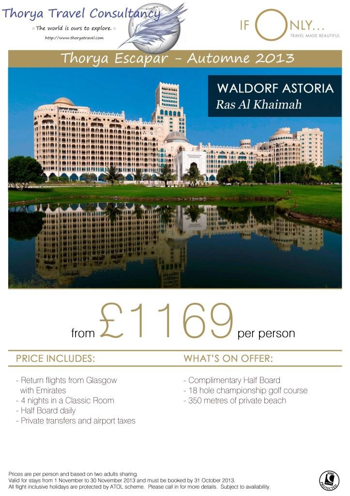 Waldorf Escapar 2013
