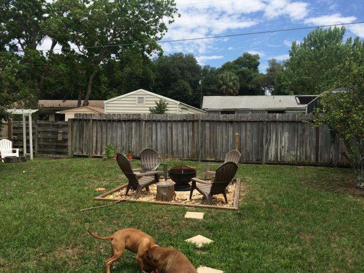 Backyard: Firepit