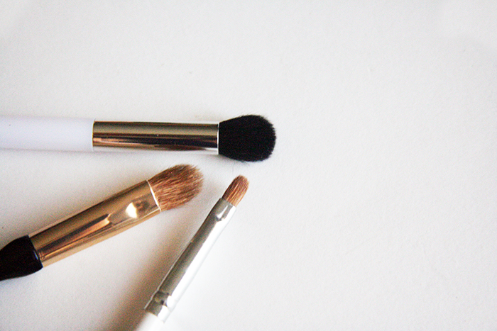 sonia kashuk liquid light concealer. a little about my favorite concealing brushes\u2013 all are from target! i have quite few other brushes mac as well some smaller sponges and sonia kashuk liquid light concealer