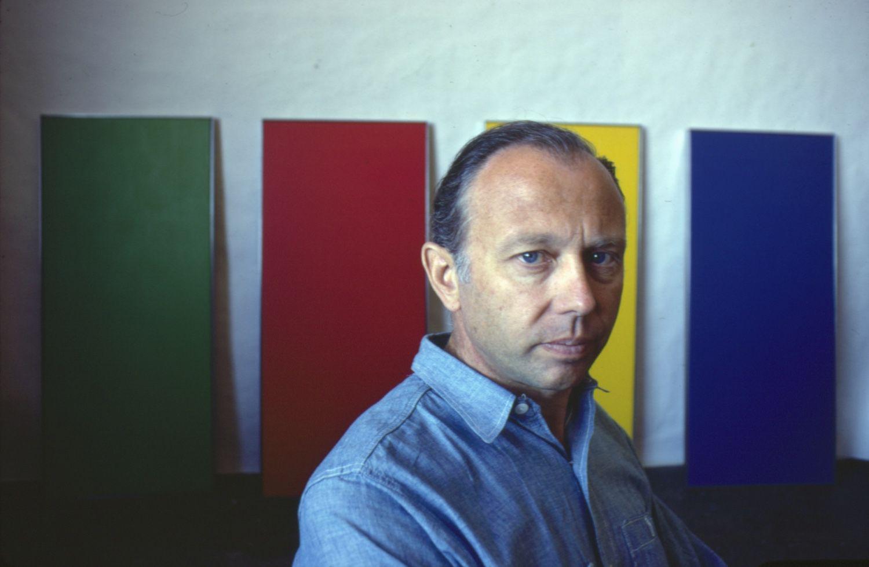 Biography Of Ellsworth Kelly Minimalist Artist