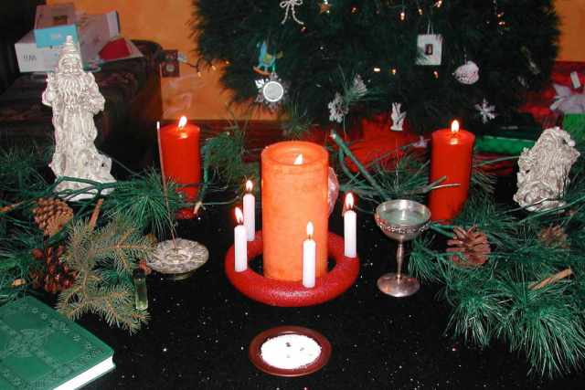 Image result for yule wicca