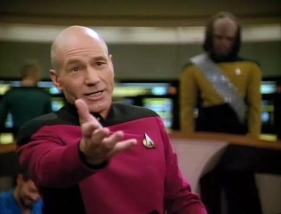 Picard recita Shakespeare