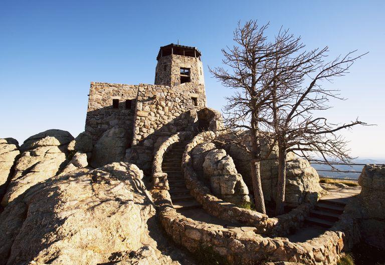 Climbing Harney Peak In South Dakota Route Description