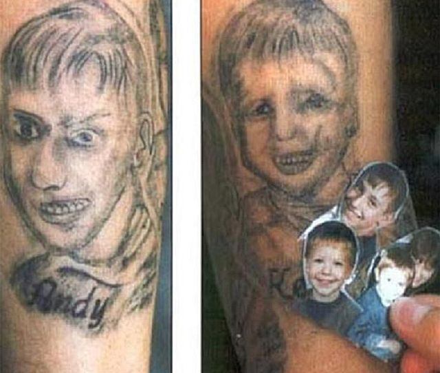 Portrait Tattoos That Went Hilariously Wrong